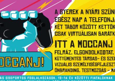 Moccanj projekt hirdetés